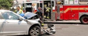 emergency vehicle car wreck